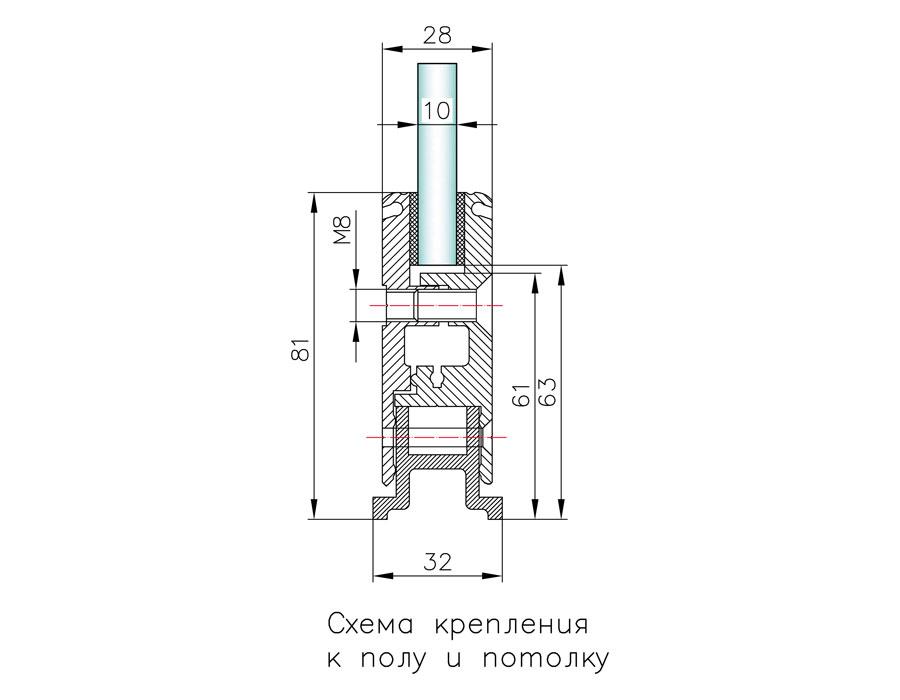 T-76 76 mm Профиль зажимной база