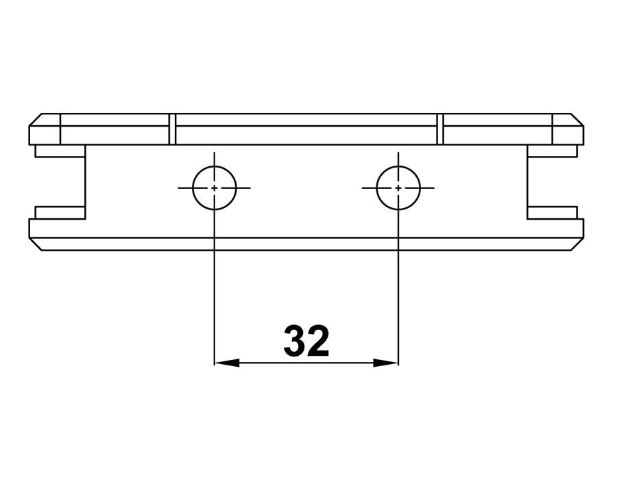 T-306 SC Соединитель с фаской