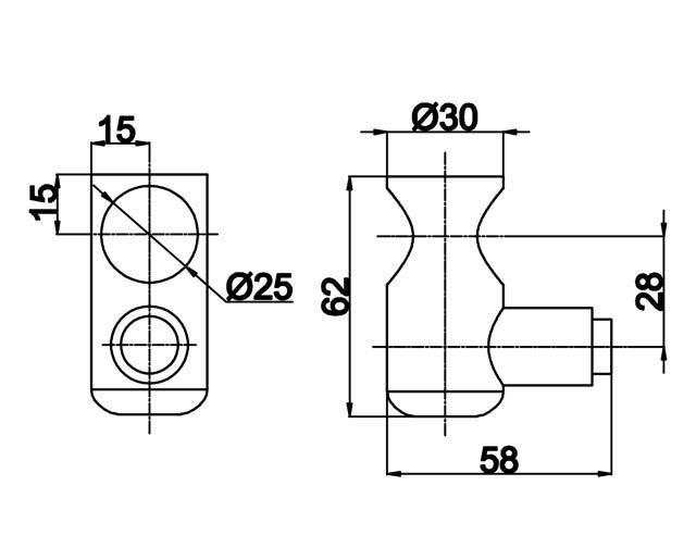 TB-845 PSS Стопор для 815 L+R