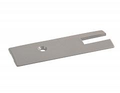 T-413 100mm Торцевая заглушка для профиля Пластик
