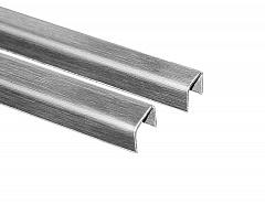 T-11A  10mm L=2500mm SSS Профиль п - образный для стекла (13х13,5х13)