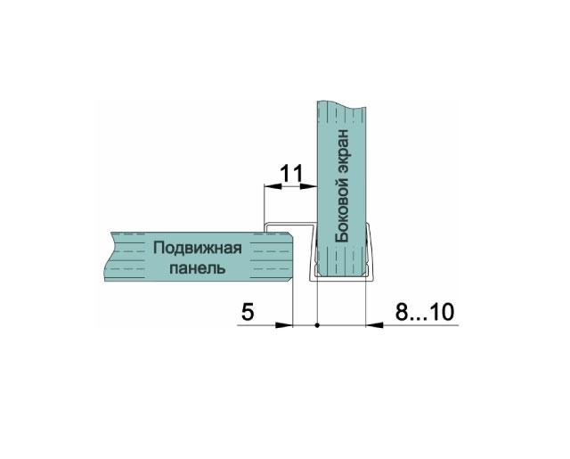 T-202 8mm L=2500mm Профиль