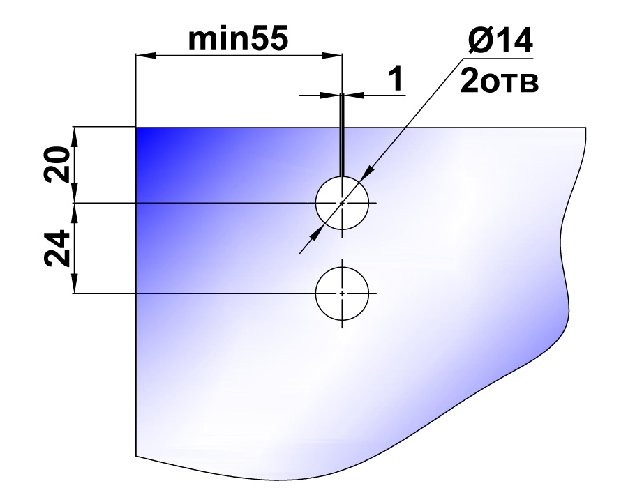 TB-816 PSS Каретка плоская малая
