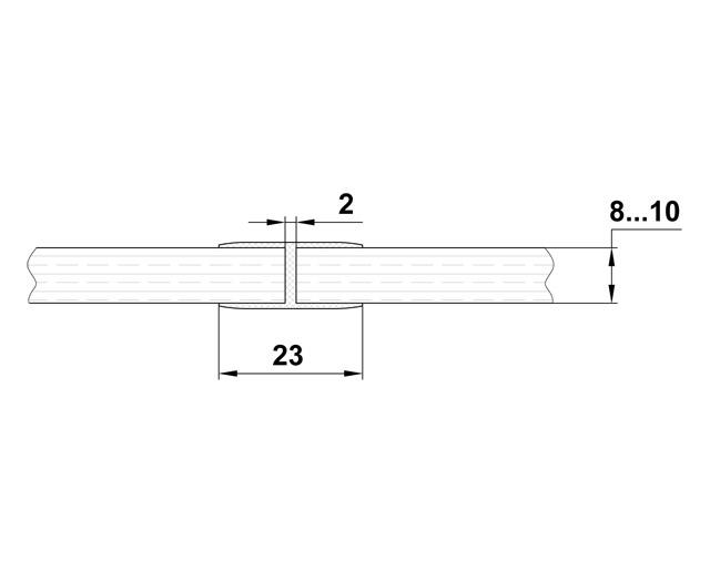T-213 10mm L=2500mm Профиль