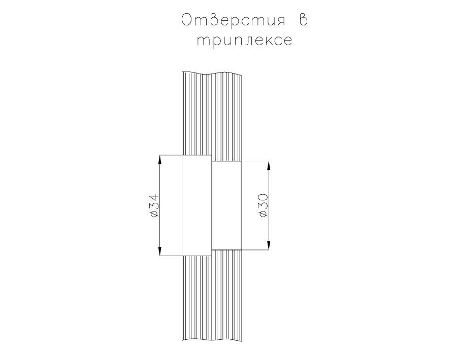 BPT-12-48-B SSS Крепление спайдера к стеклу
