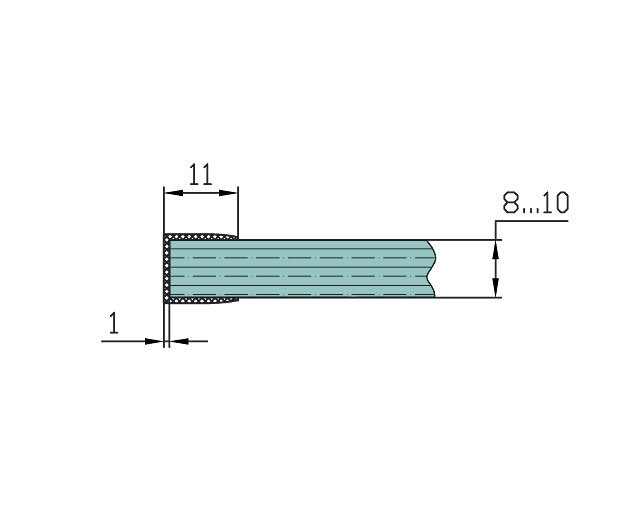 T-211 10mm L=2500mm Профиль
