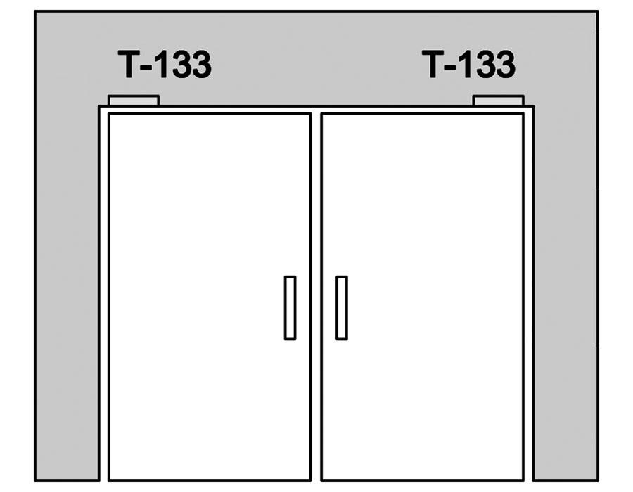 T-133 SSS Верхняя ось