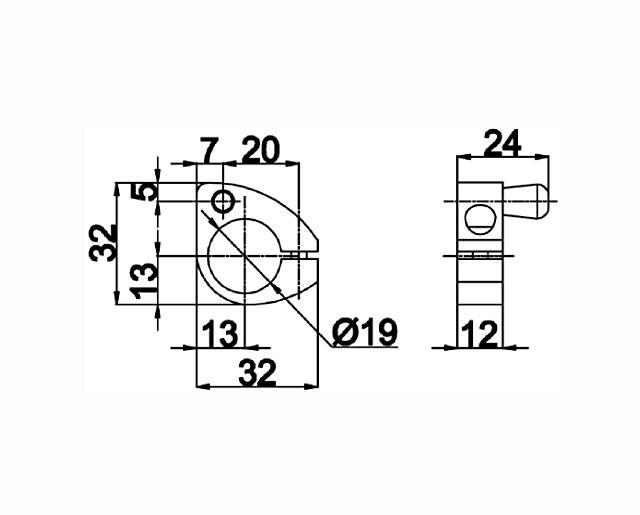 TB-846 PSS Стопор для 816, 817 L+R