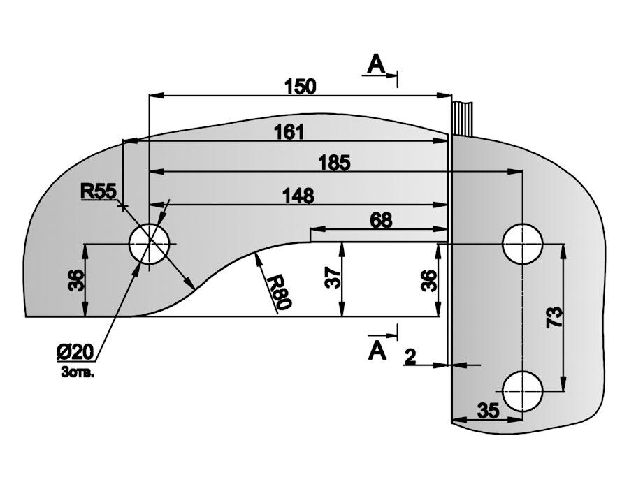 T-140 AL Фитинг угловой соединительный с осью